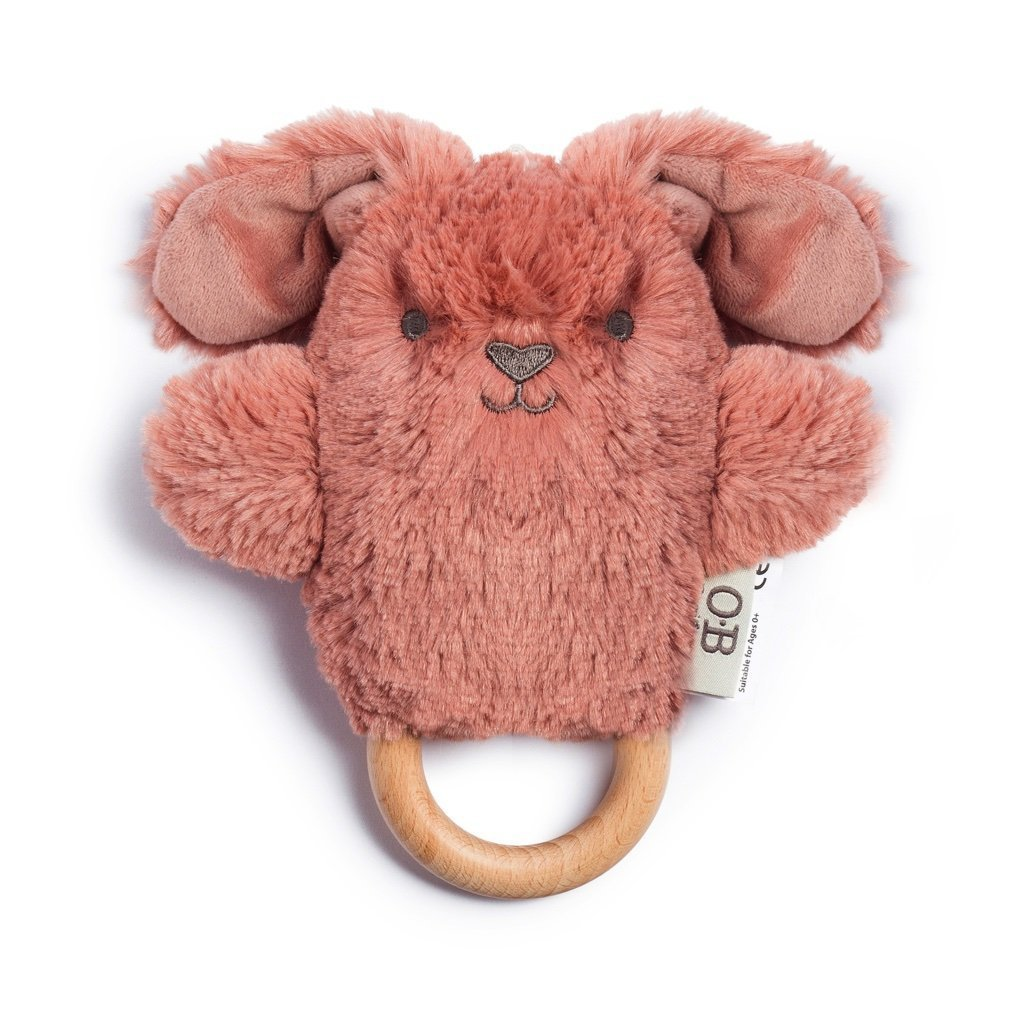 Bella Bunny Wooden Teether - OB Designs - Hugs For Kids