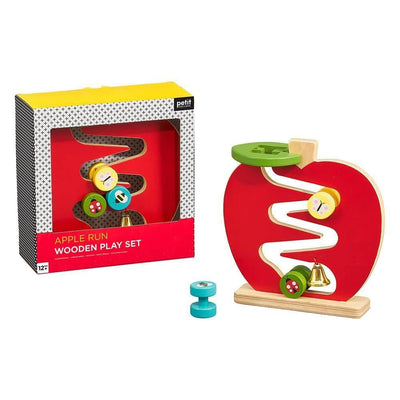 Apple Run Wooden Play Set - Petit Collage - Hugs For Kids