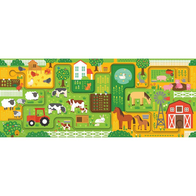 Farm and Follow Puzzle - Petit Collage - Hugs For Kids