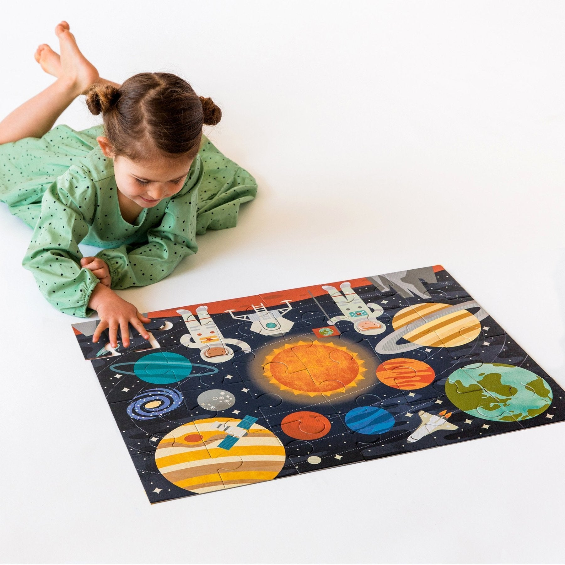 Outer Space Floor Puzzle - Petit Collage - Hugs For Kids