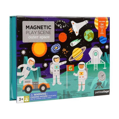 Outer Space Magnetic Play - Petit Collage - Hugs For Kids
