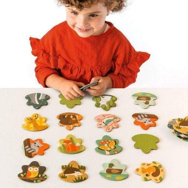 Forest Animals Memo Game