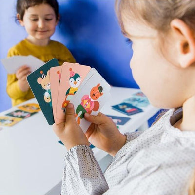 Silly Monkey Card Game - Petit Collage - Hugs For Kids
