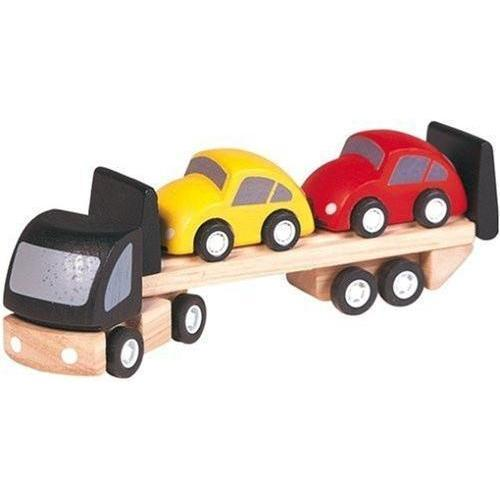 Plan Toys To Play Car transporter kids-children-mums-parenting-toyshop-fun kids-children-mums-parenting-toyshop-fun