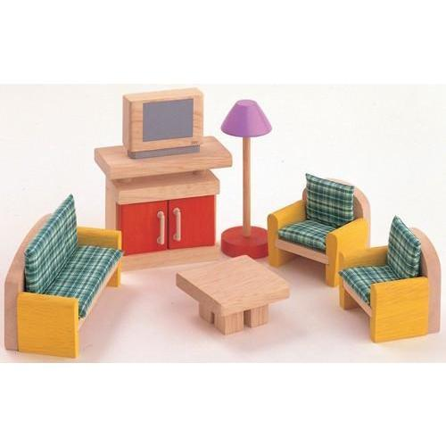 Plan Toys To Play Dolls Furniture - Living Room kids-children-mums-parenting-toyshop-fun kids-children-mums-parenting-toyshop-fun