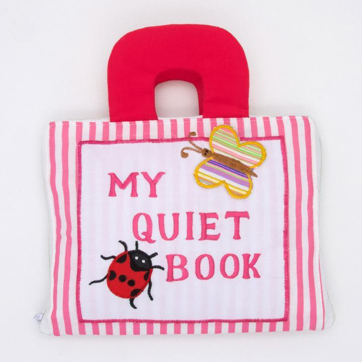 Quiet Time Pink Book - Quiet Books - Hugs For Kids