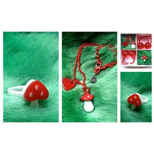 Red Bobble To Wear Toadstool Gift Pack kids-children-mums-parenting-toyshop-fun kids-children-mums-parenting-toyshop-fun