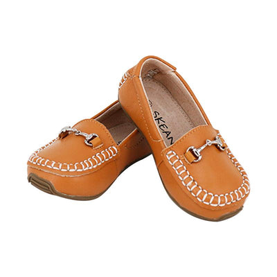 Classic Leather Loafer - Skeanie - Hugs For Kids