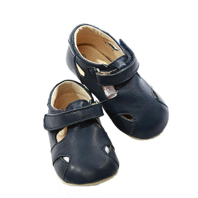 Pre-walker Leather Sunday Sandals - Skeanie - Hugs For Kids