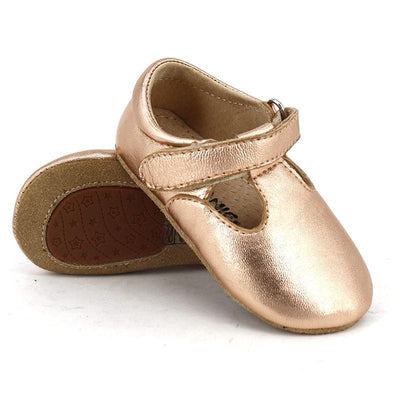 Pre-walker Leather T-Bar Shoes - Skeanie - Hugs For Kids