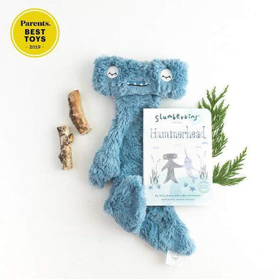Conflict Resolution Hammerhead Snuggler Bundle - Slumberkins - Hugs For Kids