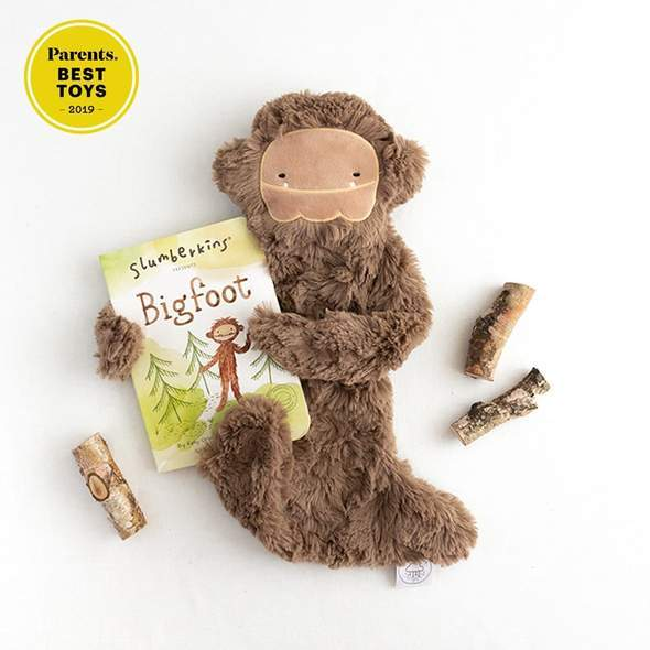 Self Esteem Bigfoot Snuggler Bundle - Slumberkins - Hugs For Kids