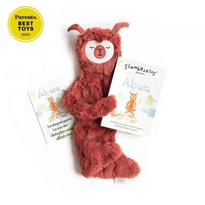 Stress Relief Alpaca Snuggler Bundle - Slumberkins - Hugs For Kids