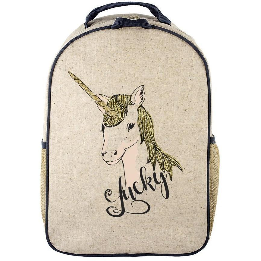 Lucky Unicorn Toddler Backpack - SoYoung - Hugs For Kids