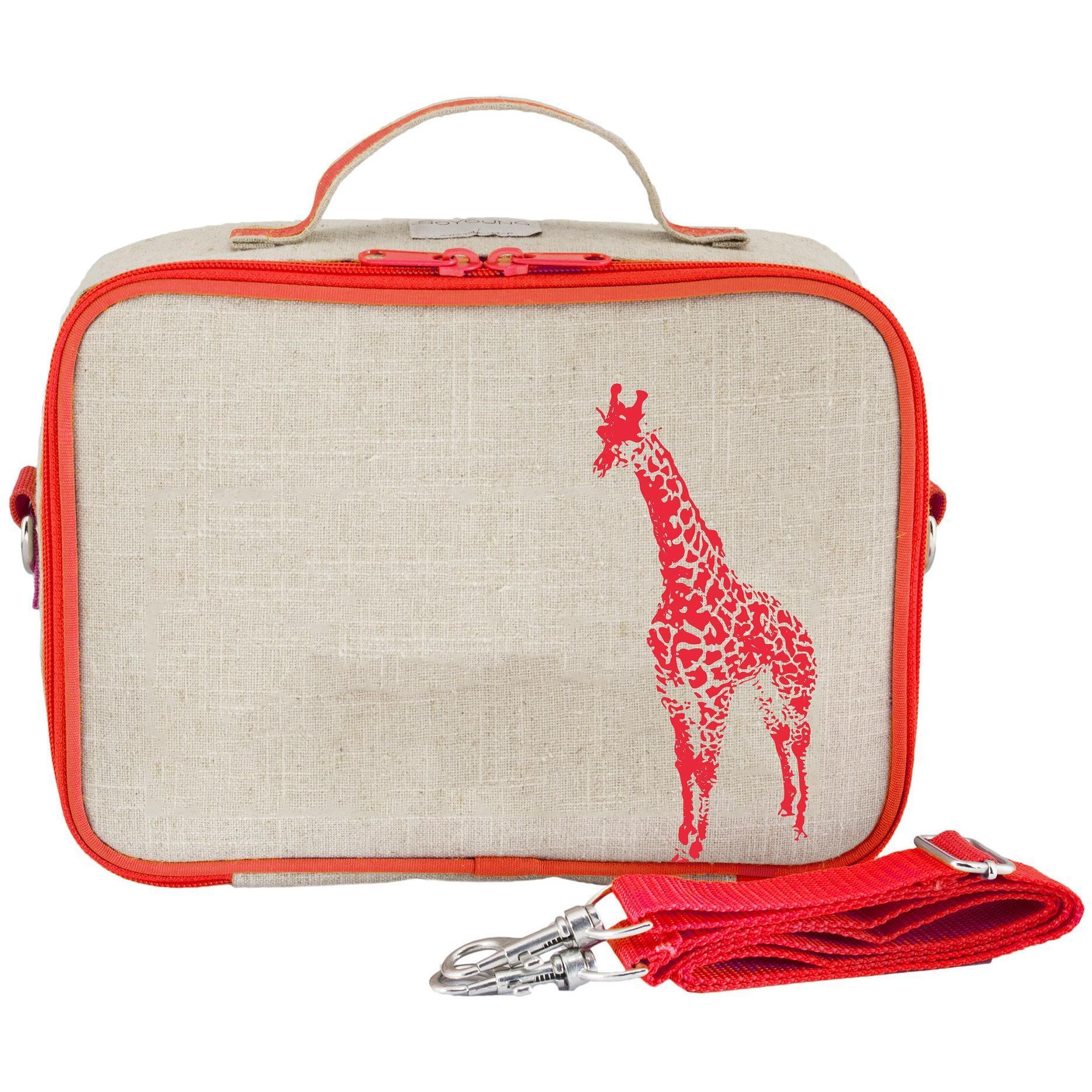 Orange Giraffe Lunchbox - SoYoung - Hugs For Kids