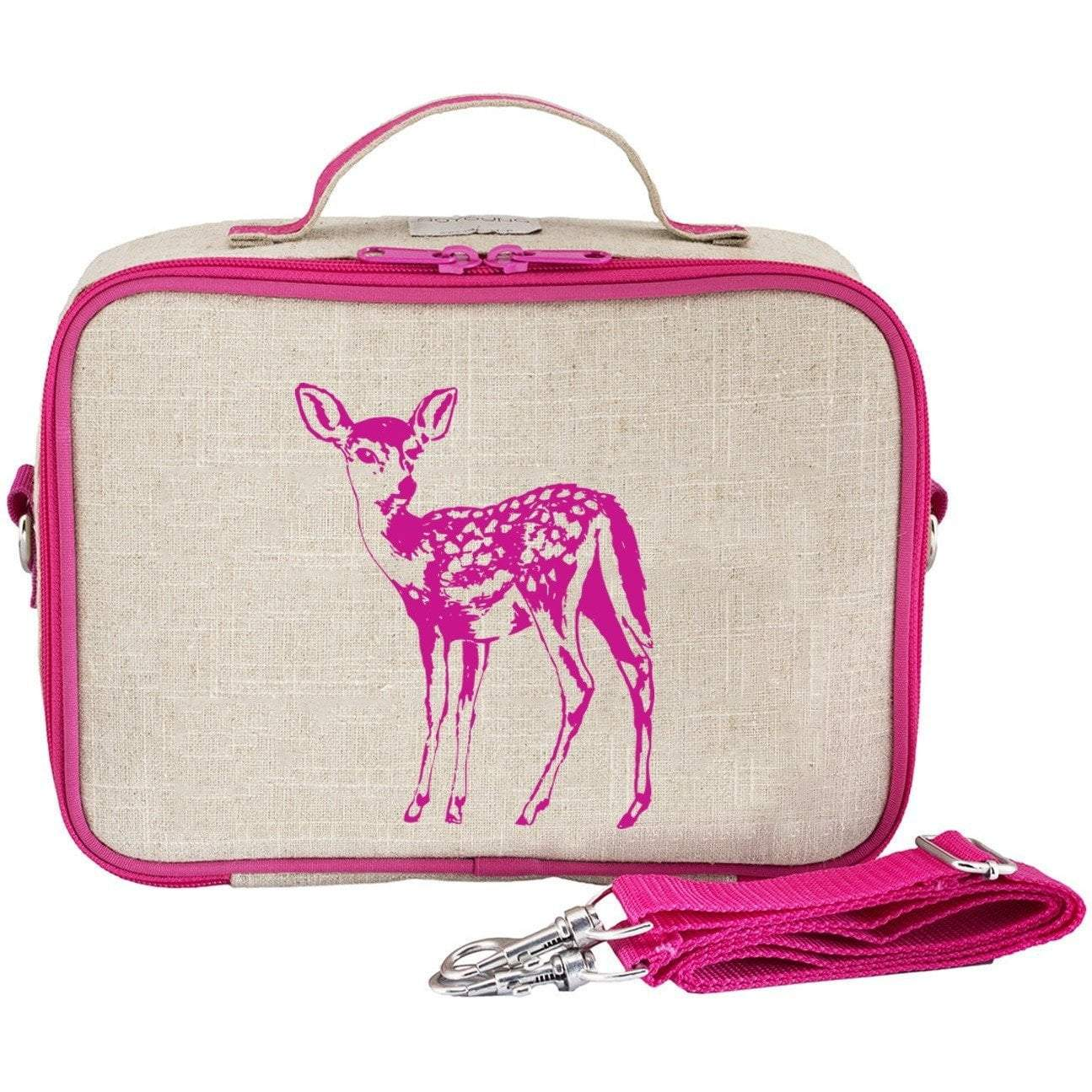 SoYoung To Eat Pink Fawn Lunch Box kids-children-mums-parenting-toyshop-fun kids-children-mums-parenting-toyshop-fun