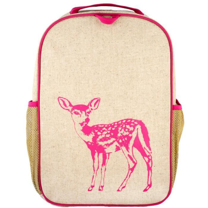 SoYoung To Eat Pink Fawn School Backpack kids-children-mums-parenting-toyshop-fun kids-children-mums-parenting-toyshop-fun