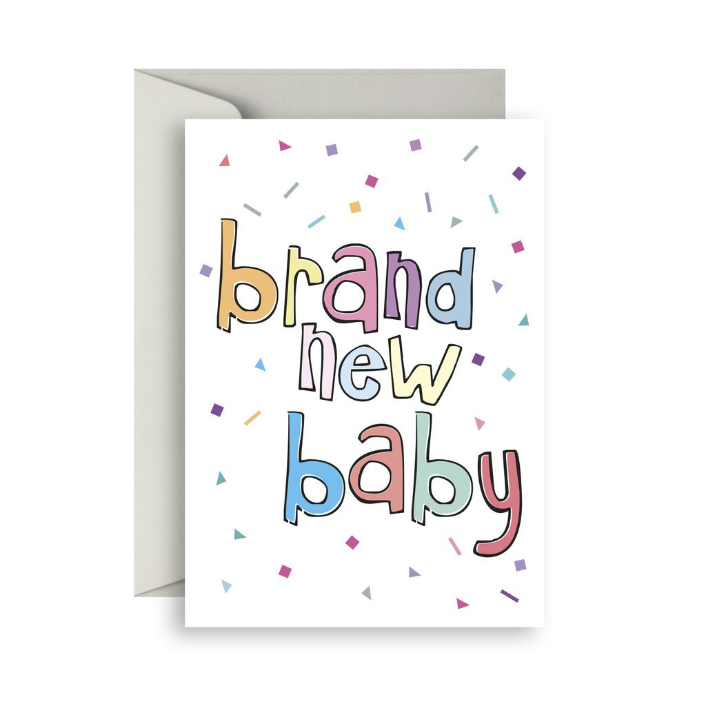Brand New Baby Card - Sprout and Sparrow - Hugs For Kids