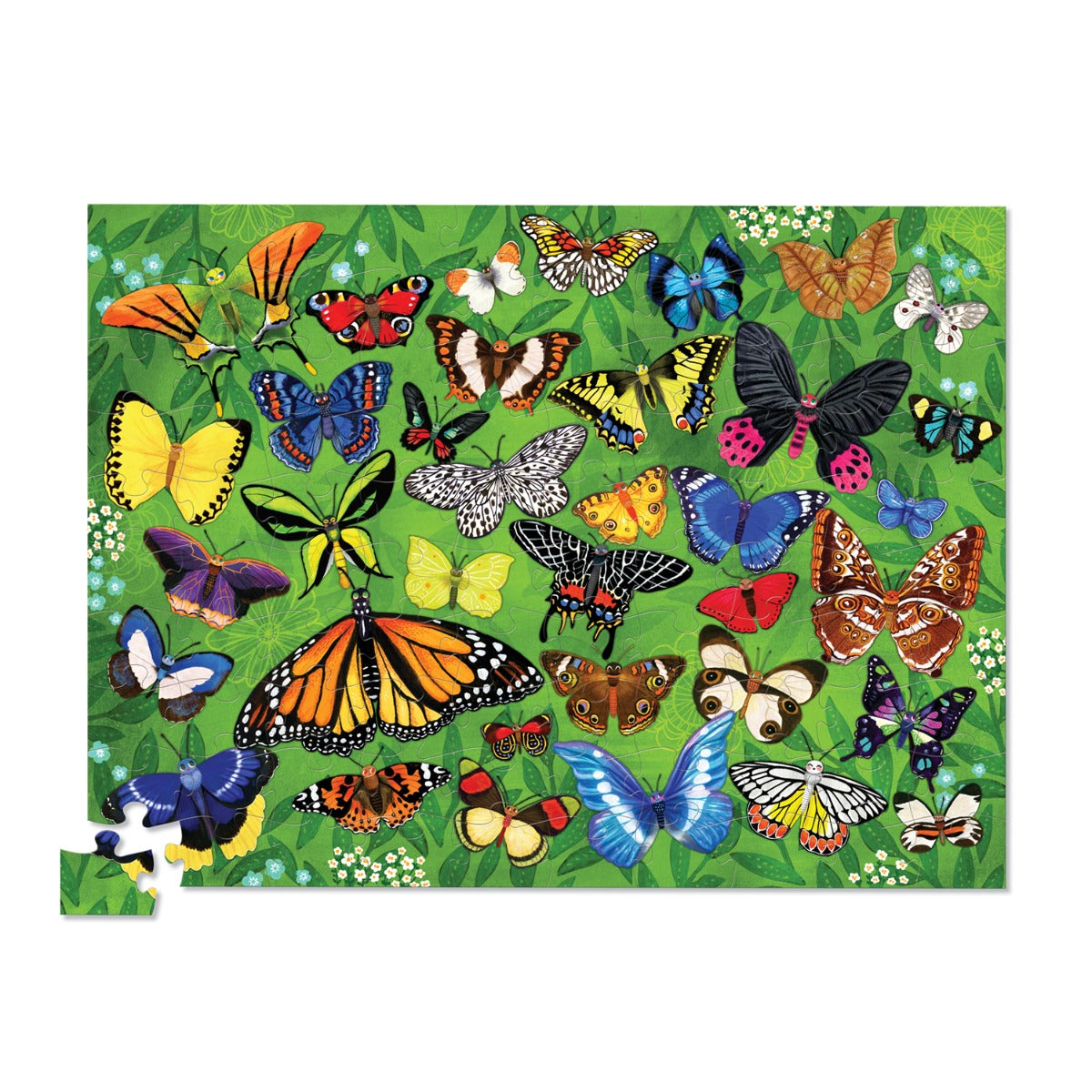 36 Animals Puzzle 100pc - Butterflies