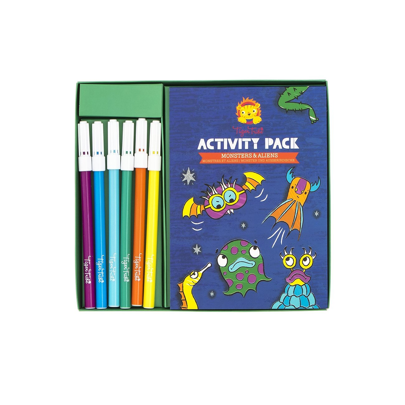 Activity Pack - Monsters and Aliens - Tiger Tribe - Hugs For Kids