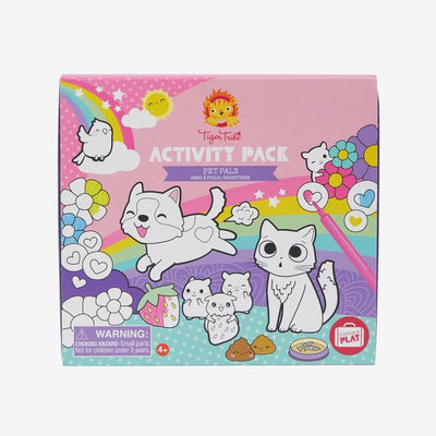 Activity Pack - Pet Pals - Tiger Tribe - Hugs For Kids