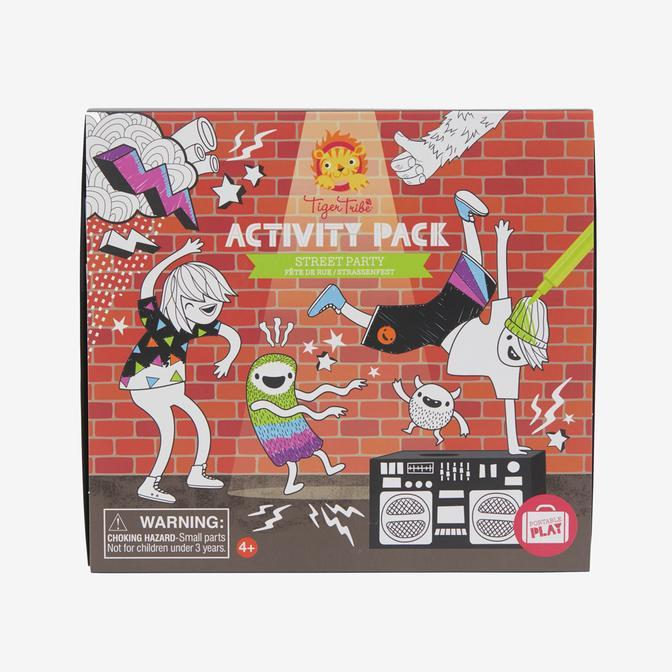 Activity Pack - Street Party - Tiger Tribe - Hugs For Kids