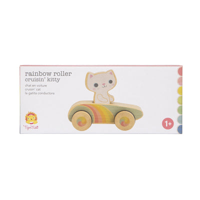 Crusin Kitty Rainbow Roller - Tiger Tribe - Hugs For Kids