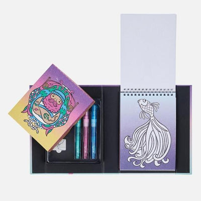Glitter Colouring Set - Ocean Dreams - Tiger Tribe - Hugs For Kids