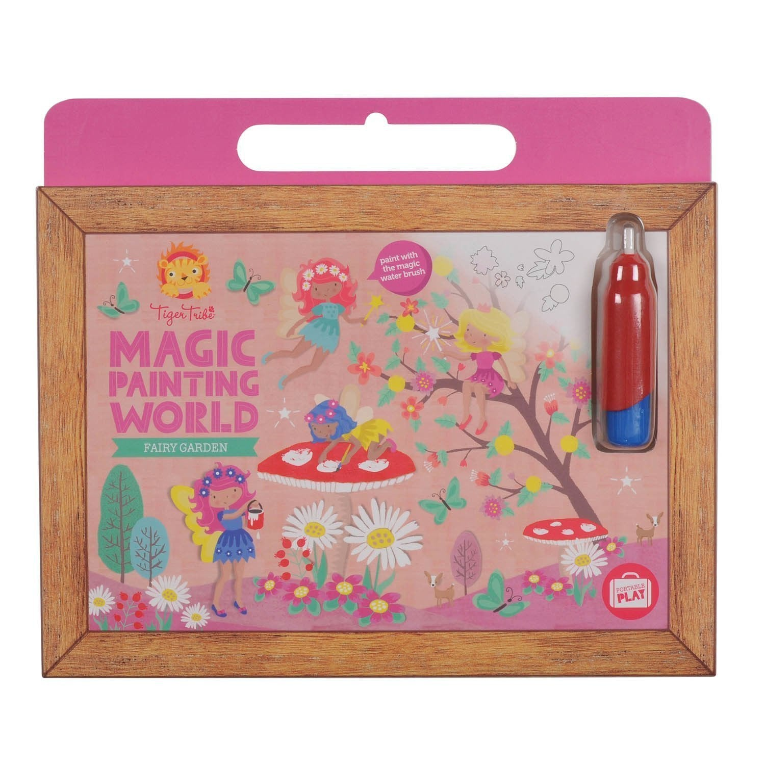 Magic Painting World - Fairy Garden - Tiger Tribe - Hugs For Kids