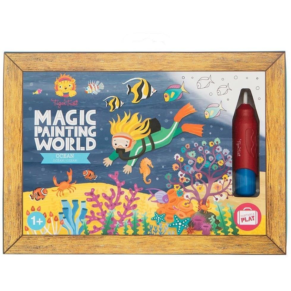 Magic Painting World - Ocean - Tiger Tribe - Hugs For Kids