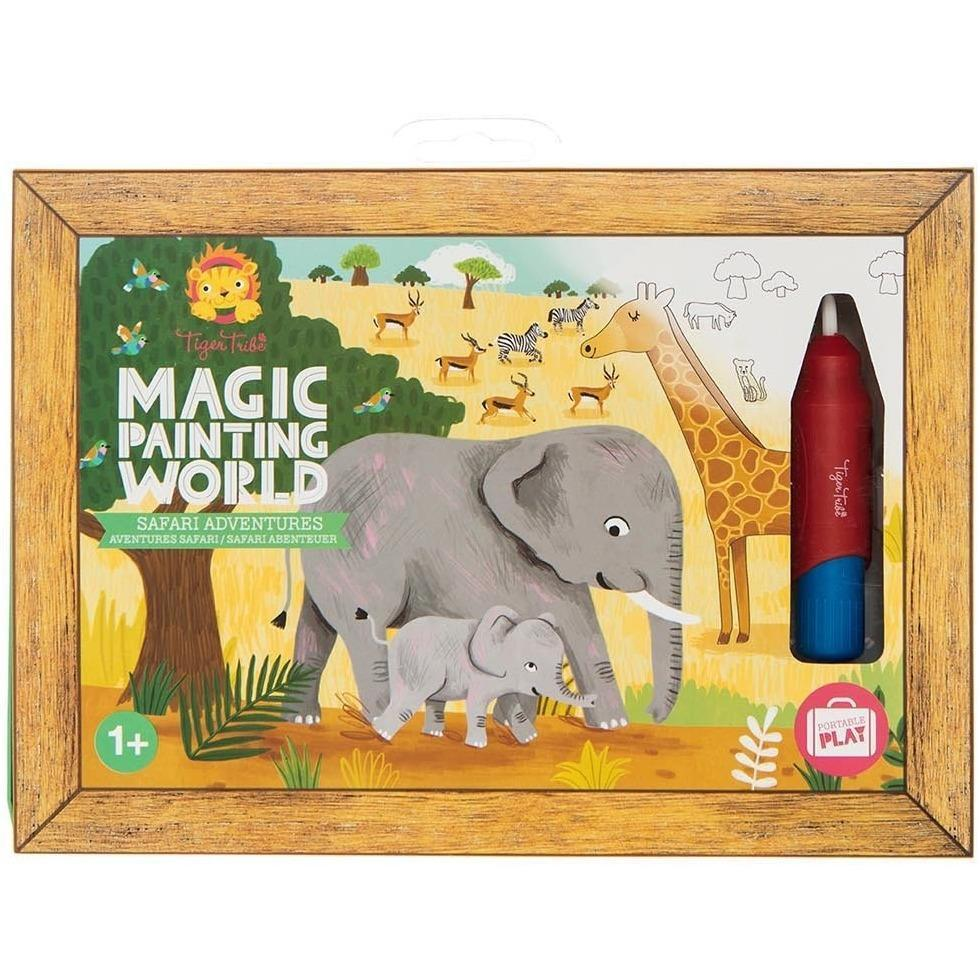 Magic Painting World - Safari - Tiger Tribe - Hugs For Kids