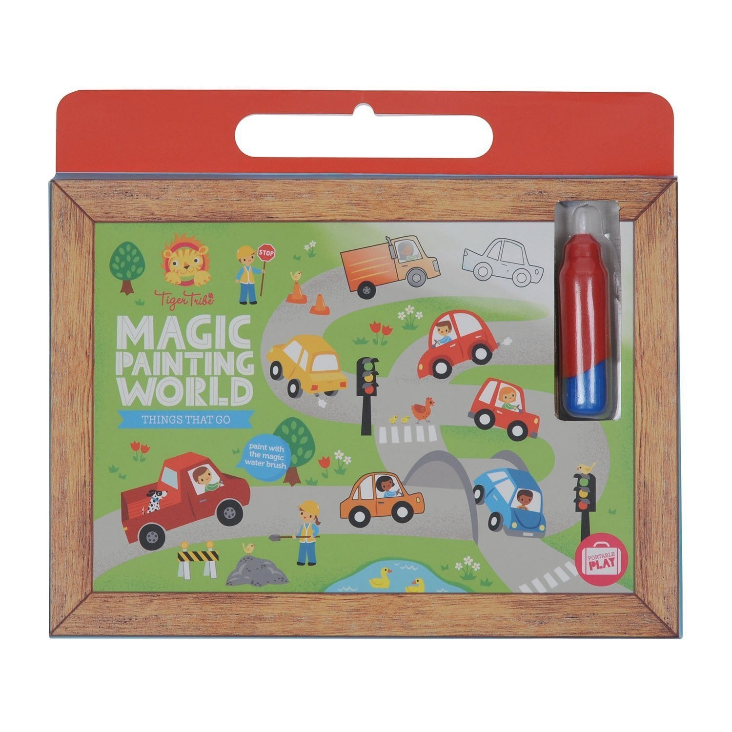 Magic Painting World - Things that Go - Tiger Tribe - Hugs For Kids