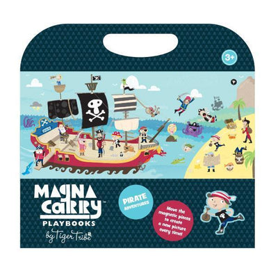 Magna Carry - Pirate Adventure - Tiger Tribe - Hugs For Kids