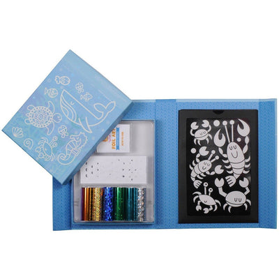 Under the Sea - Foil Art - Tiger Tribe - Hugs For Kids