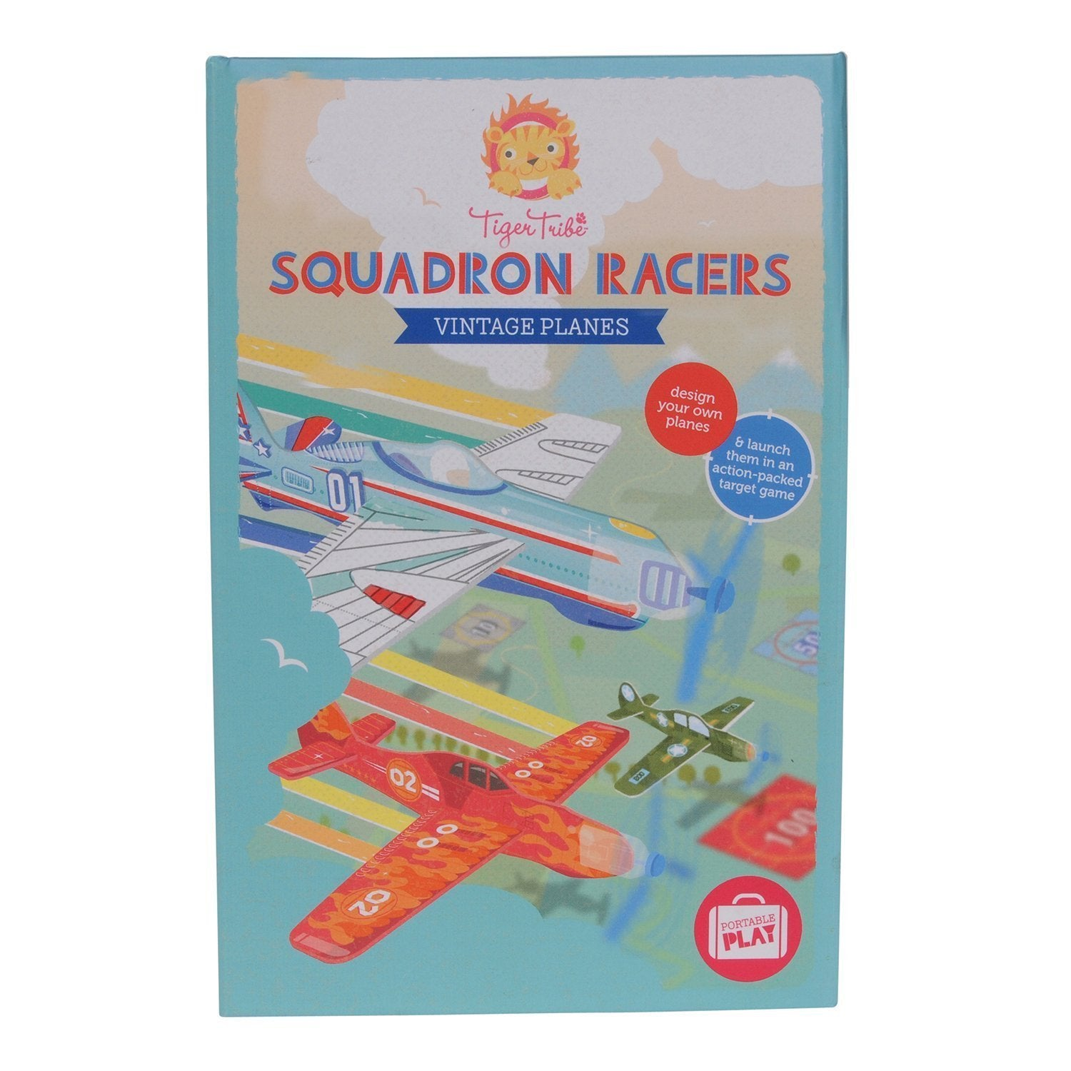 Vintage Planes Squadron Racers - Tiger Tribe - Hugs For Kids