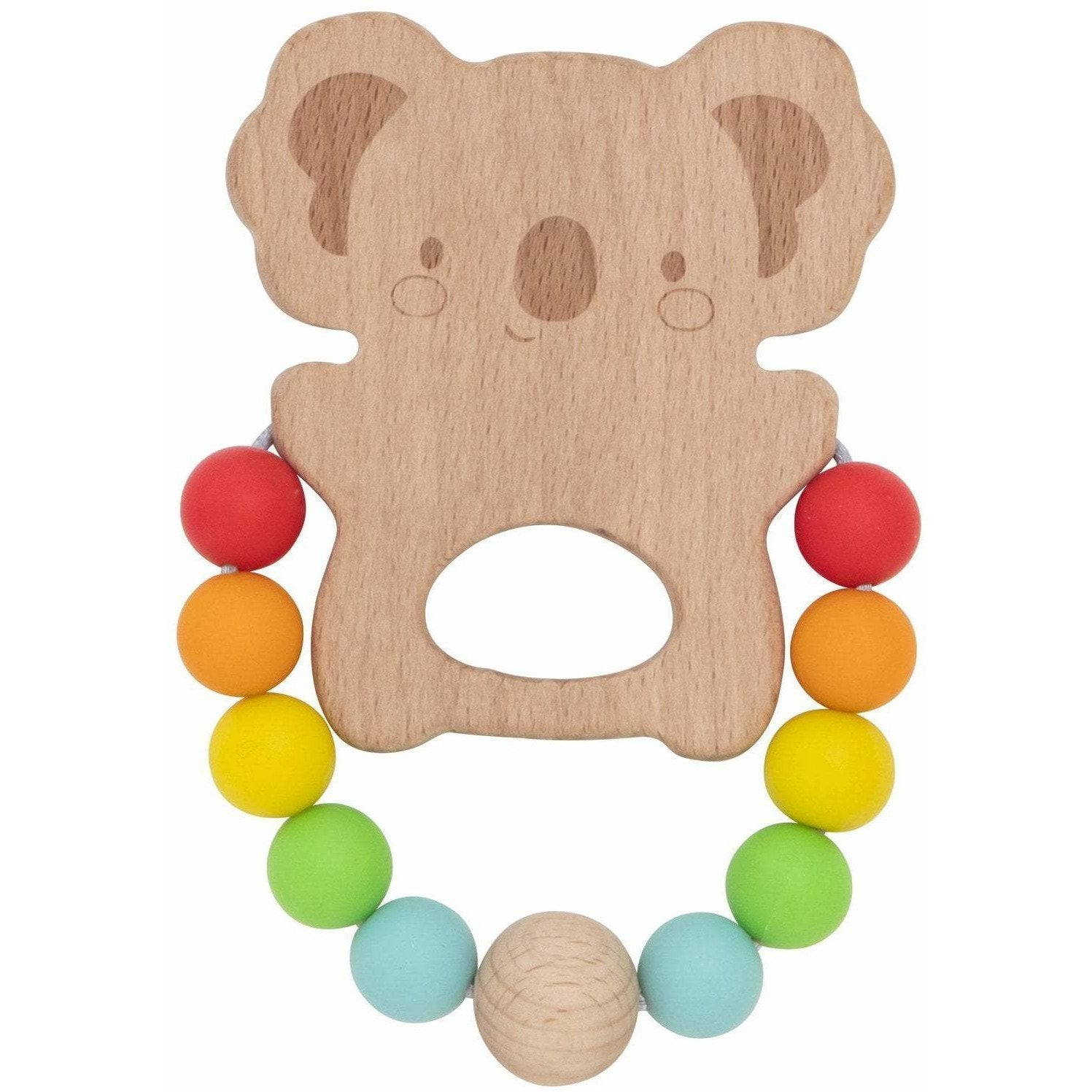 Wooden Silicone Koala Teether - Tiger Tribe - Hugs For Kids