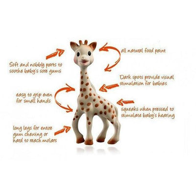 Vulli For Baby Sophie the Giraffe kids-children-mums-parenting-toyshop-fun kids-children-mums-parenting-toyshop-fun