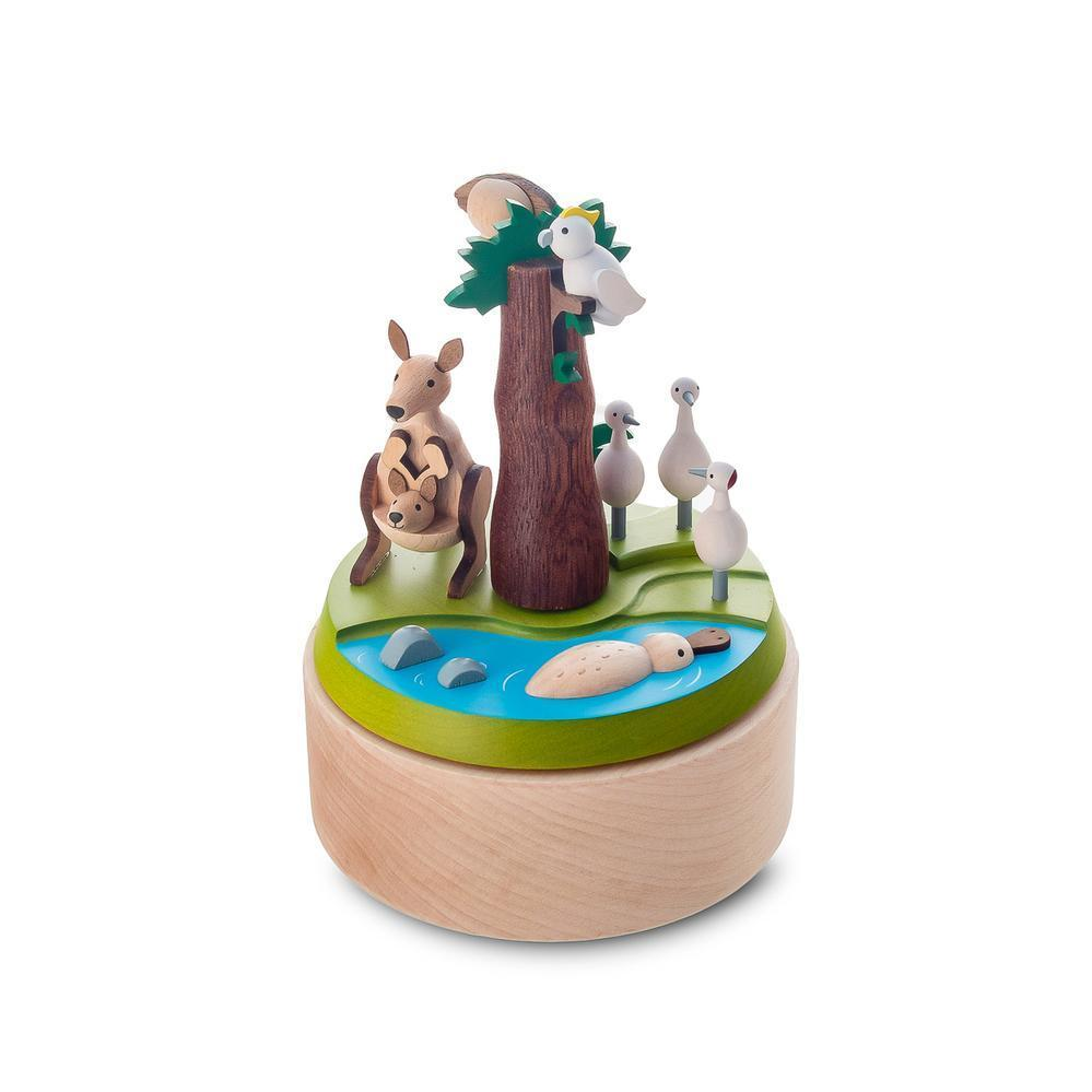 Australia Safari Music Box - Wooderful Life - Hugs For Kids