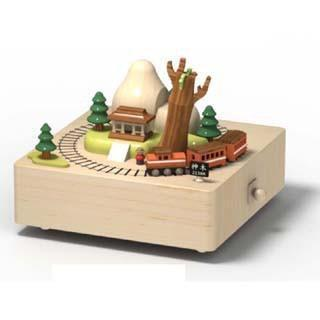 Railroad Music Box - Wooderful Life - Hugs For Kids