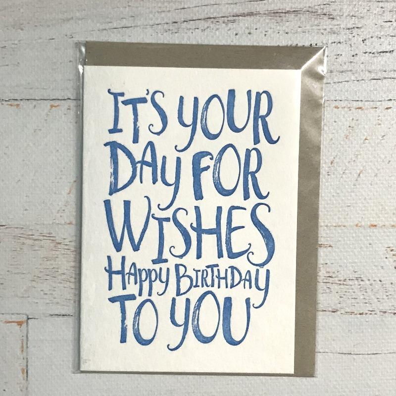Day for Wishes Card - Write to Me - Hugs For Kids