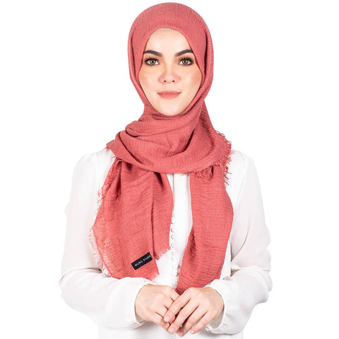 mUMu Arabic Shawl in Salmon