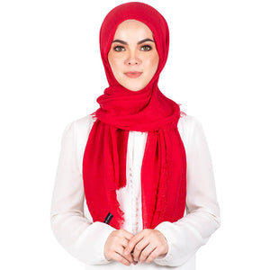 mUMu Arabic Shawl in Red