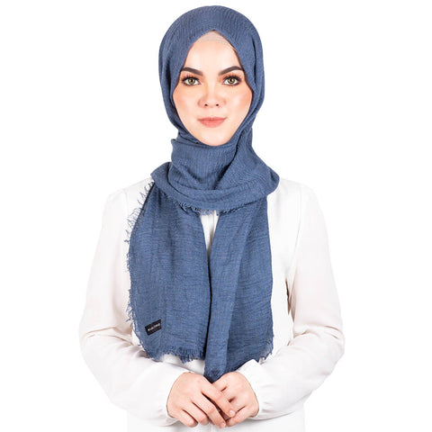 mUMu Arabic Shawl in Dark Grey