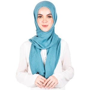 mUMu Arabic Shawl in Sea Breeze