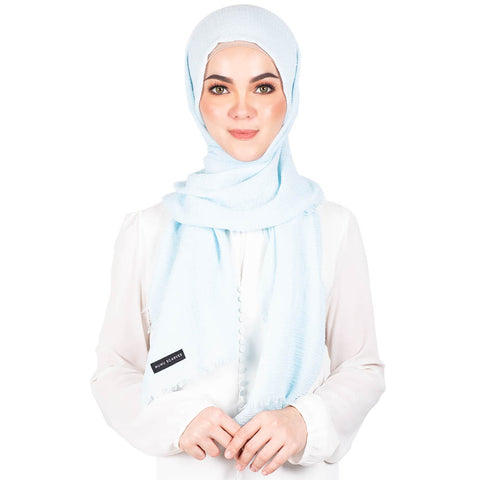 mUMu Arabic Shawl in Sky Blue