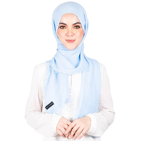 mUMu Arabic Shawl in Baby Blue