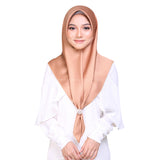 MUMU BAWAL SATIN IN MILKY CHOCOLATE