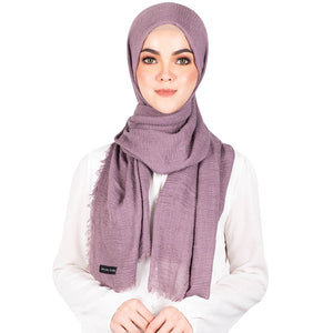 mUMu Arabic Shawl in Purple