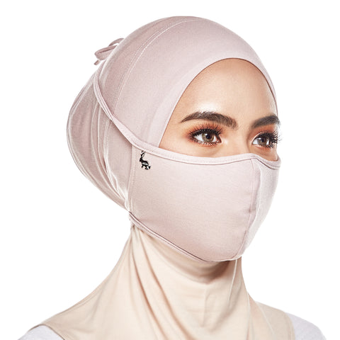 mUMu Face Mask - Almond Brown