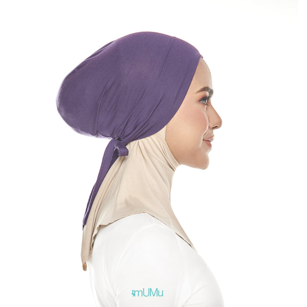 mUMu Snow Cap Tie Back Inner - Amethyst Purple